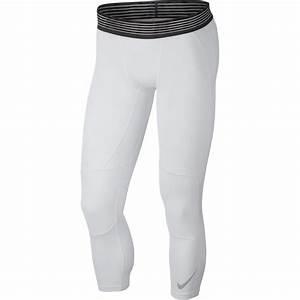 Collant Nike Pro Basketball Tights white/black - Basket4Ballers