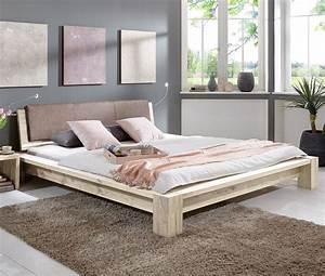 Massivholz Bett Aus Ge U00f6lter Wildeiche Z B  180x200