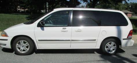 buy   ford windstar mini van se white  auto