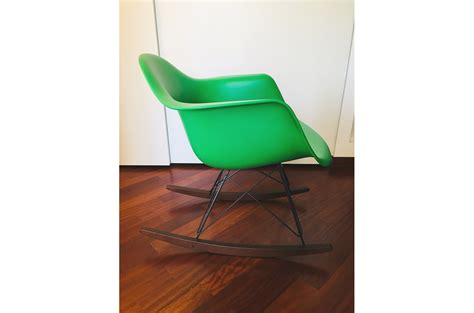 Eames Plastic Armchair Rar (verde), Vitra