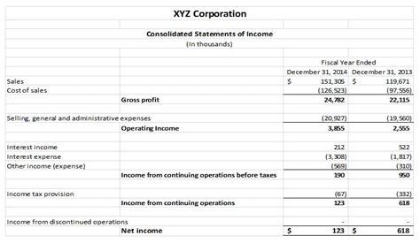 basics  financial statement analysis