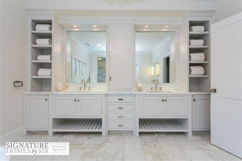 gorgeous bathroom features dual sink vanity boasting