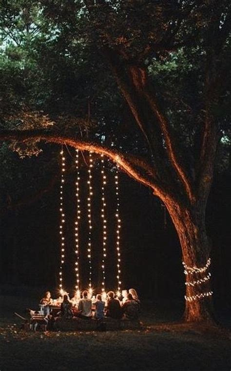 25 outdoor tree lighting ideas on