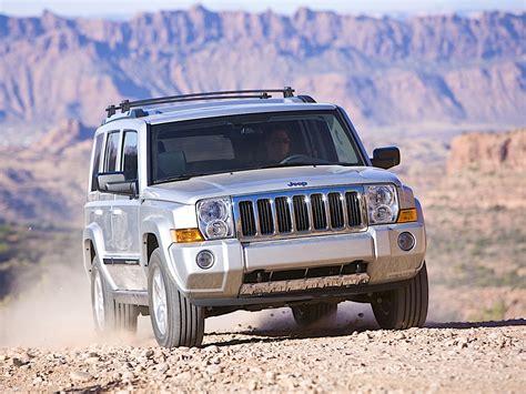 jeep commander specs