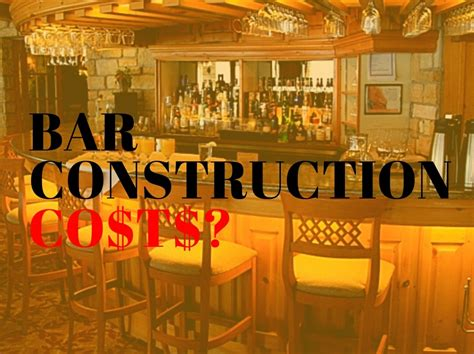 How Much Does A Bar Cost by How Much Does Bar Construction Cost Cabaret Design