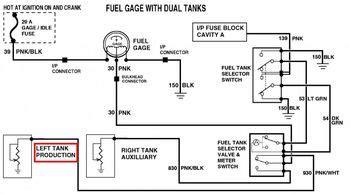 1981 Gmc Wiring Diagram by 1973 1987 Chevy Gmc Dual Fuel Tank Wiring Diagram 49