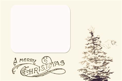 Card Template Printable Card Templates Happy Holidays