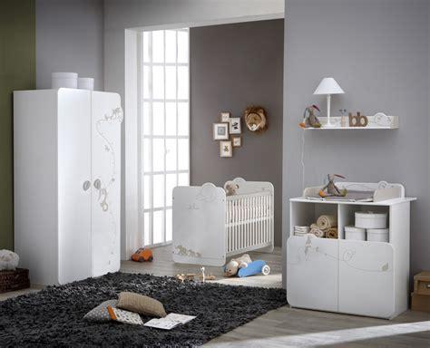 papier peint chambre b b mixte chambre bébé complète contemporaine blanche woody