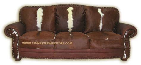 Cowhide Leather Sofa by Cowhide Sofas Cowhide Couches Cowhide Sleeper Sofas