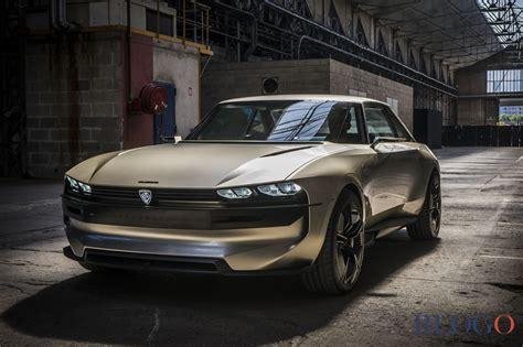 Peugeot Elegend Il Concept Dell'auto Del Futuro