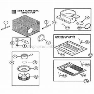 Nutone Qt80 Parts List And Diagram   Ereplacementparts Com