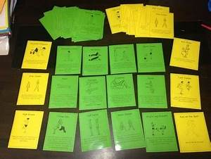 Task List Fitness Circuit Station Cards By Miss Hayley 39 S Tpt