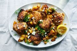 chicken  white wine onions  herbs recipe nyt cooking