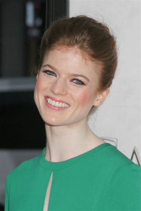 rose leslie weight height measurements ethnicity hair color