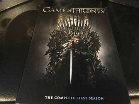 game  thrones season  dvd box set  sale  glasnevin