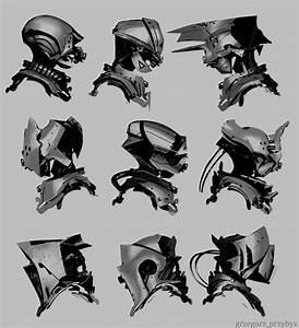 ArtStation - Helmet Design, Grzegorz Przybyś