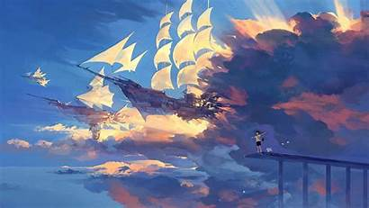 Anime Scenery Background Resolution Dark Angel Boy