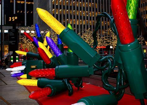 christmas decoration around nyc nyc nyc decorations on sixth avenue