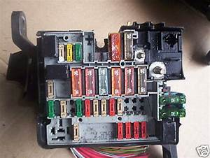 Peugeot 206 Fuse Box Earlier Type Engine Bay