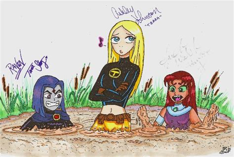 Quicksand Teen Titans In Color By Teentitans4evr On Deviantart