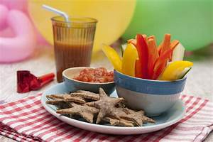 Italian Shortbread Shapes And Veggie Sticks And Dip Kids