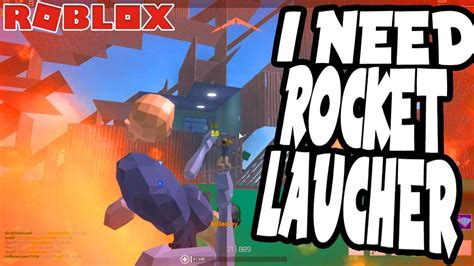 rocket launcher roblox strucid youtube
