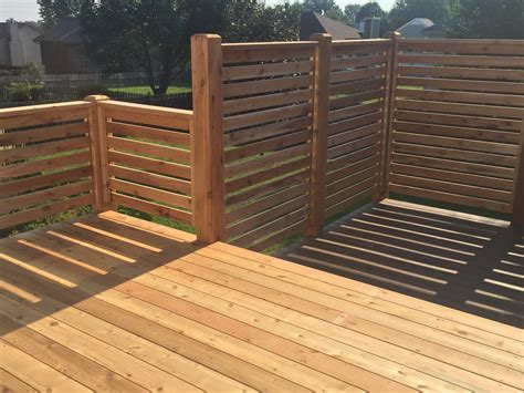 decks elite fence deck