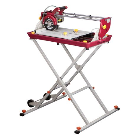 chicago electric tile saw 7 7 quot bridge tile saw 1 5 hp