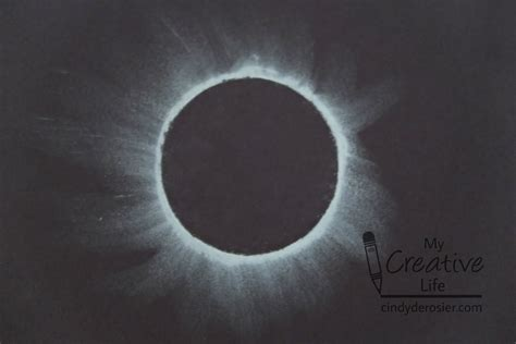 simple chalk eclipse art fun family crafts