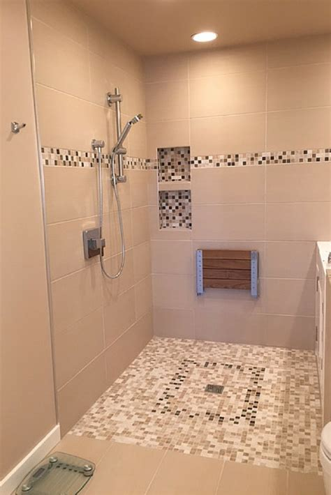 A Walk In Shower advantages and disadvantages of a curbless walk in shower