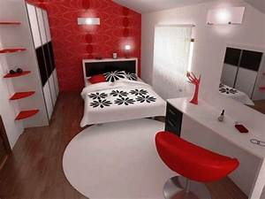 bedroom adorable red bedroom chair for bedroom decoration With red black and white bedroom