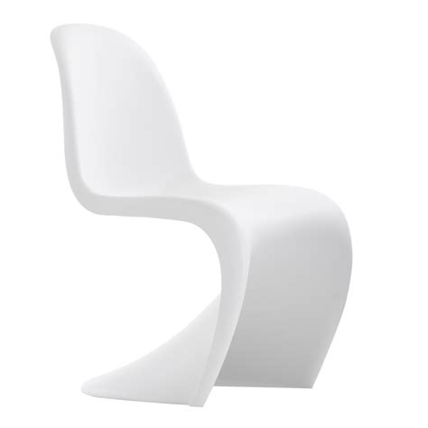 chaises design blanches vitra panton panton junior chairs verner panton