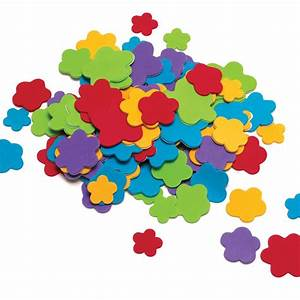 Foam Flowers Stickers - Toppers & Stickers from Crafty