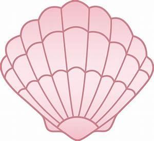 Pink Seashell - Free Clip Art