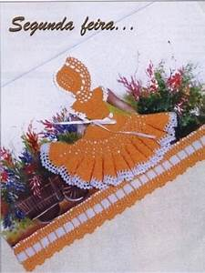 Crochet Doll Dress Applique Patterns  U22c6 Crochet Kingdom
