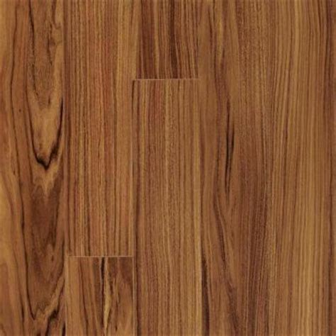 Tigerwood Hardwood Flooring Home Depot by Pergo Xp Golden Tigerwood Laminate Flooring 5 In X 7 In
