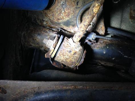 arm control rear rusted mount rot yota away bracket weld yotatech forums