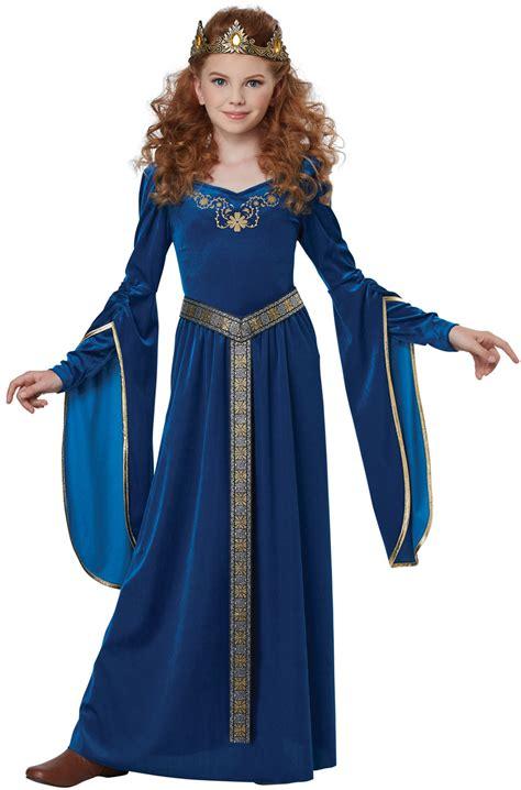 sapphire medieval princess child costume purecostumescom