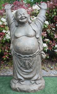 Statue Bouddha Exterieur : statue bouddha rieur debout 200 cm ~ Teatrodelosmanantiales.com Idées de Décoration