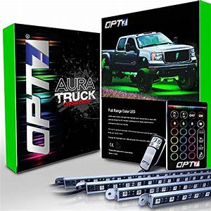 Opt7 Quantum 4pc Led Rock Lights  U2013 Dimmer Strobe Fade Ip67