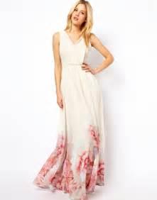 maxi dresses for weddings mango hem begonia maxi dress us 6 watercolor flower floral wedding bridal prom
