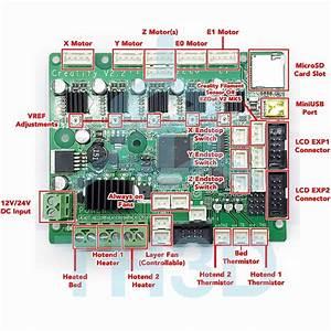 Creality Dual Extruder Upgrade Board  V2 1  V2 2