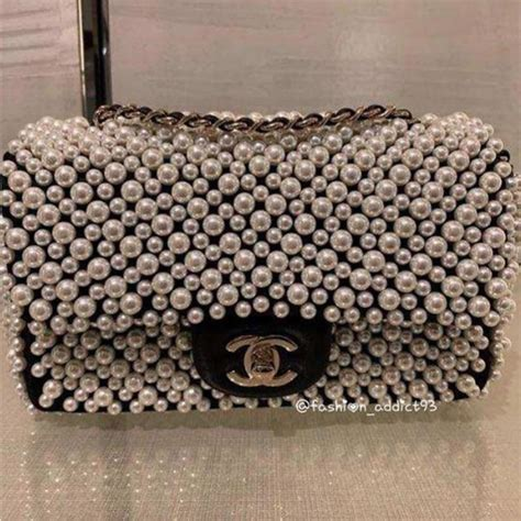 chanel bags  pearls  springsummer  spotted fashion