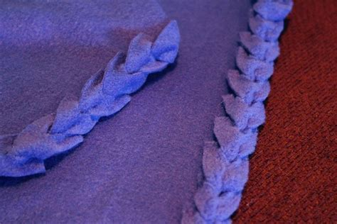 Diy Edging For Fleece Blankets, Cute Idea For Baby Blankets (tutorial) Heavy Blanket To Sleep Swaddle Blankets Made In Usa Cable Knit Baby Uk How Make A With Circle Loom Build Fort Sewing Patterns Minky Cotton For Winter Does Help You