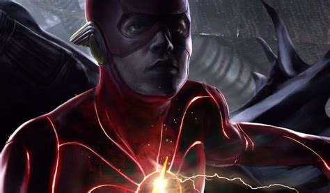 The Flash movie reveals first look at Barry Allen's new suit