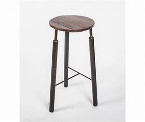 Barstuhl Sitzhöhe 65 Cm : barhocker metall holz im industriedesign hocker metall sitzh he 65 cm barst hle barhocker ~ Bigdaddyawards.com Haus und Dekorationen