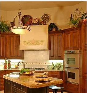 how do i decorate above my kitchen cabinets 781