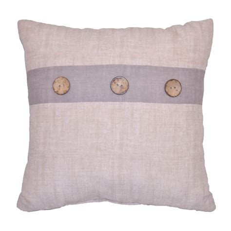 button throw pillow essential home decorative pillow with buttons home