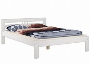Weißes Bett 140x200 : doppelbett 140x200 franz sisches bett futonbett kieferbett wei rollrost matratze w m ~ Indierocktalk.com Haus und Dekorationen