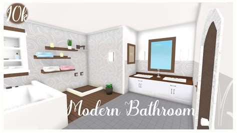 cheap modern bathroomk roblox bloxburg youtube